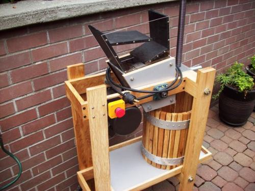 Handmade Cider Press